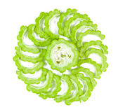 Bitter Gourd With Sliced Stock Images
