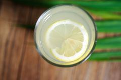 Bitter lemon drink macro Royalty Free Stock Image