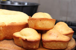 Bitter muffin Royaltyfri Bild