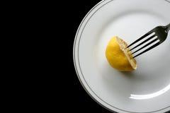 Bitter sour meal Stock Photos