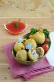 Bitterballen-Kuchen 03 Stockbilder