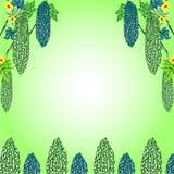 Bittere het frame van de Meloen illustraties Stock Afbeeldingen