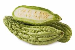 Bittere Meloen (met weg) Stock Afbeeldingen