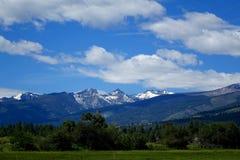 Bitterroot Mountain Valley - Montana Stock Images