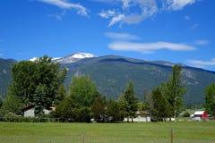 Bitterroot Mountain Valley - Montana Royalty Free Stock Image