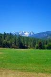 Bitterroot Mountains near Darby, Montana Royalty Free Stock Photo