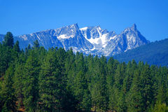 Bitterroot Mountains near Darby, Montana Stock Photos