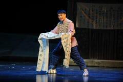Bittersüße Jiangxi-Oper eine Laufgewichtswaage Stockbilder