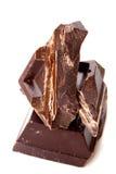Bittersweet chocolate Stock Photography