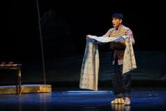 Bitterzoete Jiangxi-opera een weeghaak Stock Foto's