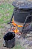 Bitumen Melting Device Royalty Free Stock Image