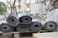 Bitumenmembran Fotografering för Bildbyråer