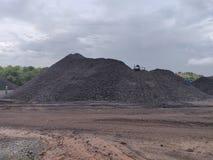 Bituminös - Anthrazitkohle, Kohle der hohen Qualität lizenzfreies stockfoto