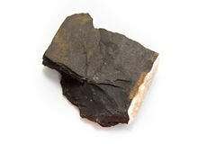 Bituminous slate Stock Photo