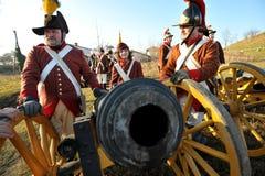 bitwa przygotowywająca Fotografia Royalty Free