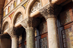 Biulding detail - St. Mark's Basilica, Venice Stock Images