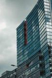 Biulding di vetro a Riga, Lettonia fotografia stock libera da diritti