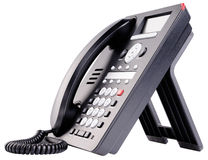 Biura IP telefon odizolowywający Obrazy Royalty Free