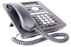 Biura IP telefon odizolowywający Zdjęcie Royalty Free