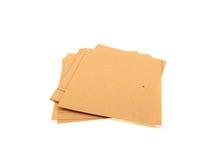 biura papieru stosu kolor żółty Zdjęcie Stock