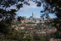 Biura w Kigali mieście, Rwanda Zdjęcie Royalty Free