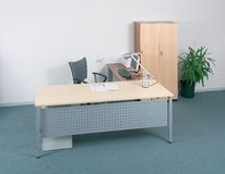 biurka biuro Zdjęcia Stock