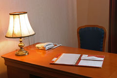 biurko Obraz Royalty Free