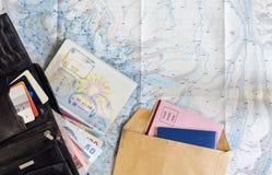 Biurko częsty podróżnik zdjęcia royalty free