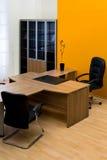 biurko drewniany obrazy royalty free