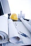 biurko inżynieria zdjęcie royalty free