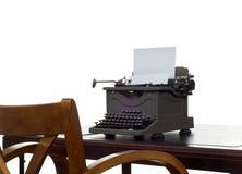 biurko jest pisarz. obraz royalty free