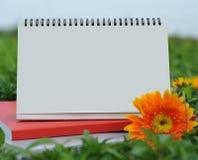 Biurko kalendarz Zdjęcia Royalty Free