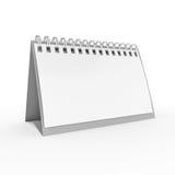 Biurko kalendarz Fotografia Stock