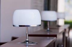 biurko lampa Obrazy Stock