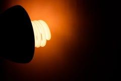 Biurko lampa Fotografia Royalty Free