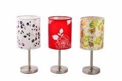 Biurko lampy światła sztuki Domowy meblowanie Obrazy Stock