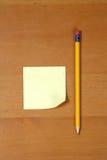 biurko poczty drewna Obraz Royalty Free