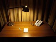 biurko pokój Fotografia Royalty Free