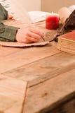 biurko praca Obrazy Stock