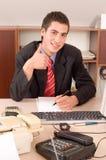 biuro biznesmena Zdjęcie Stock