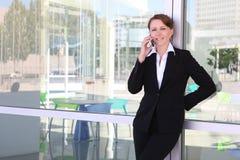biuro biznesowego pretty woman Fotografia Royalty Free
