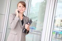 biuro biznesowego pretty woman Zdjęcie Stock