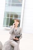 biuro biznesowego pretty woman Fotografia Stock