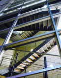 biuro budowania nowoczesnego schody Obraz Stock
