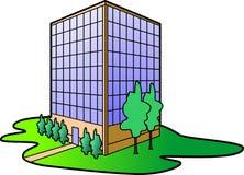 biuro budynku. ilustracja wektor