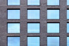 Biuro budynku fasada fotografia stock