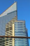 Biuro budynku losu angeles obrony Paryska dzielnica biznesu Obraz Royalty Free