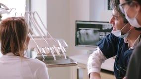 biuro dentystycznego zdjęcie wideo