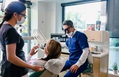 biuro dentystycznego Fotografia Royalty Free