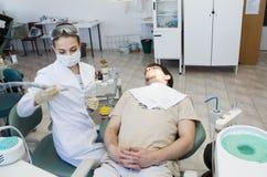 biuro do dentysty Fotografia Royalty Free